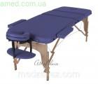 Массажный стол складной DEN Comfort (Дерево: бук, 3 секции) БИЗНЕС