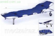 Носилки медицинские А03 с колесами (регулируемый подголовник)