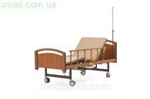 Кровать медицинская электрическая со встроенным туалетом (3 секции)