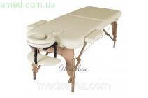 Массажный стол складной MIA (Дерево: бук, 2 секции)