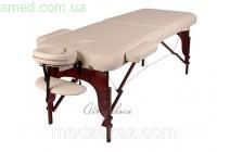 Массажный стол складной BAS (Дерево: бук, 2 секции) ЛЮКС