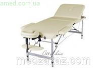 Массажный стол складной LEO Comfort (алюминий, 3 секции) БИЗНЕС