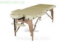 Массажный стол складной SOL  (Дерево: бук, 3 секции)